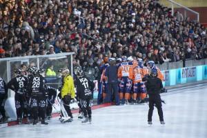 Timeout vid 5-5 (av 6-5 Sandviken-Bollnäs)